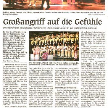 Romeo und Julia Offenburger Tageblatt